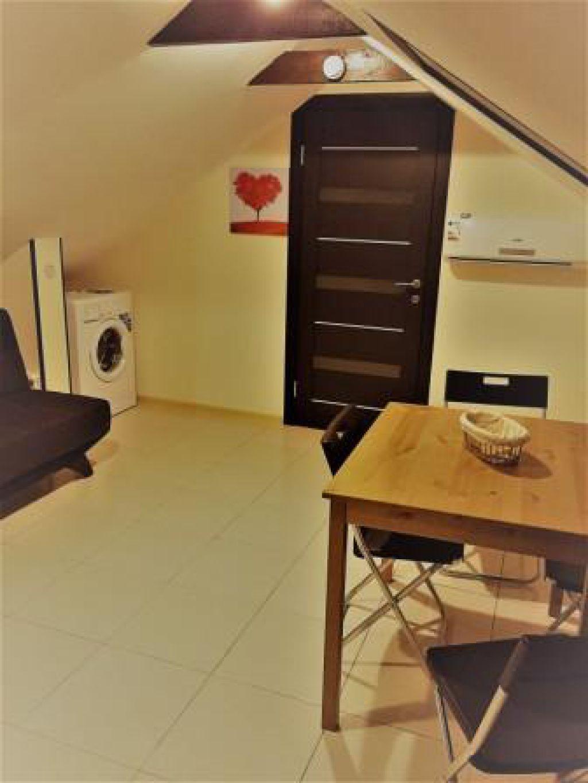 Studio apartment in the attic (2 rooms)